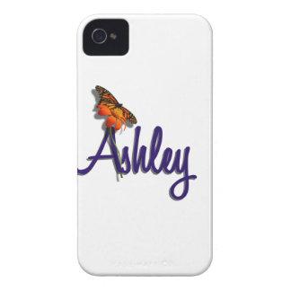 Ashley con la mariposa iPhone 4 protector