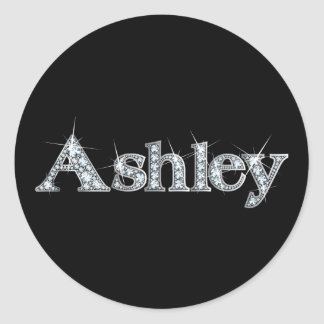 "Ashley ""Diamond Bling"" Sticker"