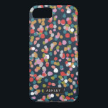 "Ashley Dots iPhone 8/7 Case<br><div class=""desc"">A colorful and contemporary confetti dot pattern design by Shelby Allison.</div>"