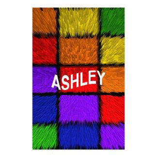 ASHLEY ( female names ) Stationery