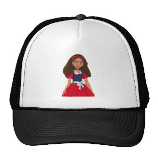 Ashley girl with the textured hair Trucker Hat