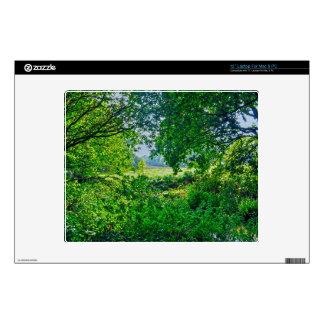 "Ashley Heath Hampshire England Forest Scene 12"" Laptop Decal"