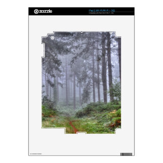 Ashley Heath Hampshire England Forest Scene Decal For The iPad 2