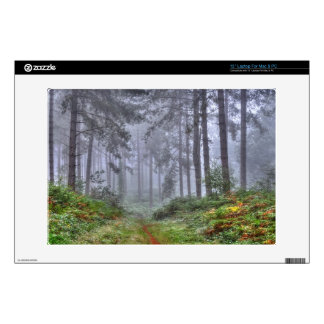 """Ashley Heath Hampshire England Forest Scene Decals For 13"""" Laptops"""