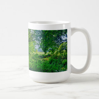 Ashley Heath Woodland Trees Nature Scene, England Coffee Mug
