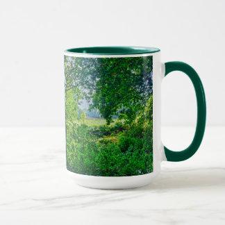 Ashley Heath Woodland Trees Nature Scene, England Mug