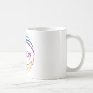 Ashley in  rainbow happy frame coffee mug