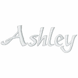 Ashley Name With English Meaning Embroidered Polo Shirt