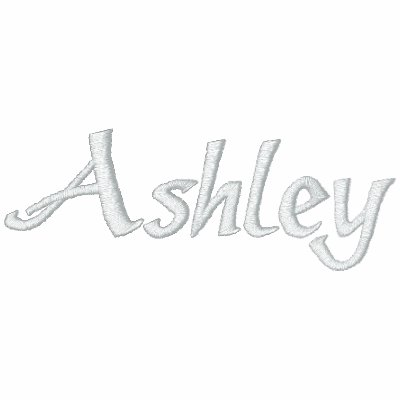 Ashley name with english meaning embroidered polo shirt for Custom embroidered polo shirts no minimum order