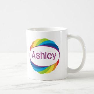 Ashley on Rainbow Coffee Mug