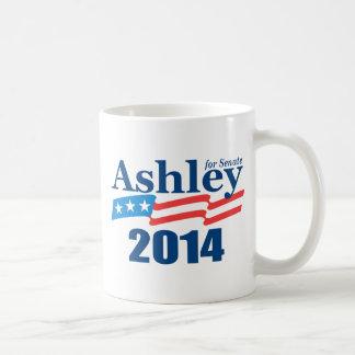Ashley para el senado tazas de café