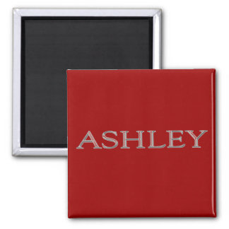 Ashley Personalized Name Magnet