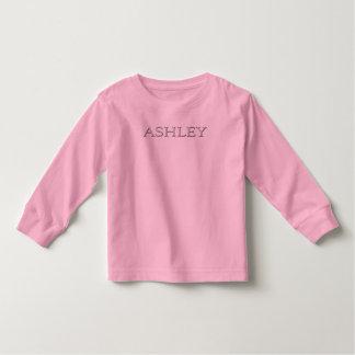 Ashley Personalized Name Toddler T-shirt