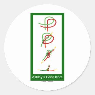 Ashley s Bend Knot Sticker