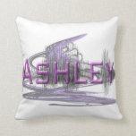 Ashley Sononome Graphic Art Design Pillow