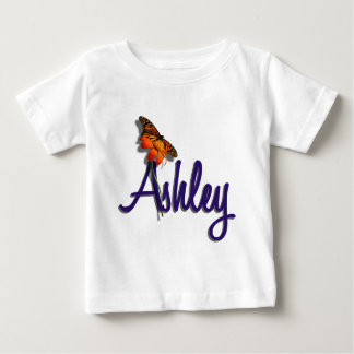 Ashley with Butterfly Baby T-Shirt