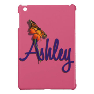 Ashley with Butterfly iPad Mini Cover