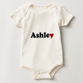 Ashley with Heart Romper