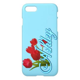 Ashley With Tulips iPhone 7 Case