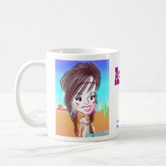 Ashley's Indian Caricature Mug