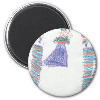 Ashli's-Princess-Dress Magnet