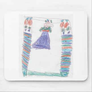 Ashli's-Princess-Dress Mouse Pad
