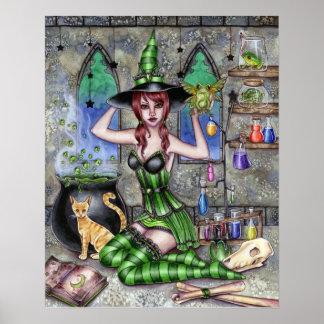 Ashlyn - Alchemy Witch - Poster
