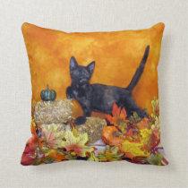 Ashlynn's Autumn Pillow (Rescue Cat)
