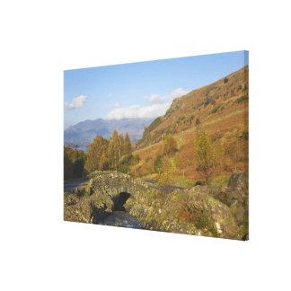 Ashness Bridge, Lake District, Cumbria, England Canvas Prints