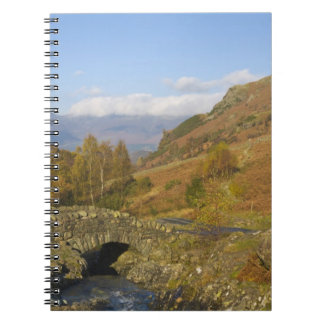 Ashness Bridge, Lake District, Cumbria, England Notebook
