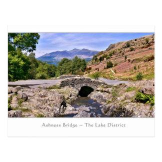 Ashness Bridge, The Lake District - Postcard