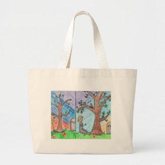 Ashputtel & the Magic Tree Jumbo Tote Bag