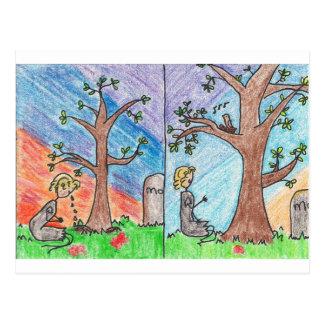 Ashputtel & the Magic Tree Postcard