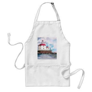 Ashtabula lighthouse 1995 adult apron