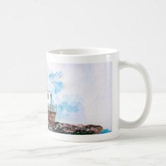 Ashtabula lighthouse 1995 classic white coffee mug