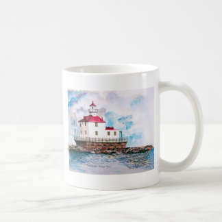 Ashtabula lighthouse 1995 coffee mug