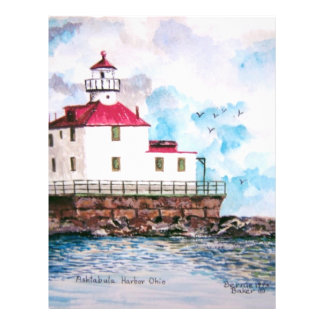 Ashtabula lighthouse 1995 flyers