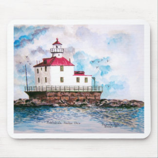Ashtabula lighthouse 1995 mouse pad