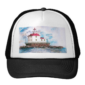 Ashtabula lighthouse 1995 trucker hat