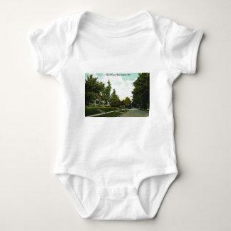 Ashtabula Ohio Prospect Street Postcard 1910s Baby Bodysuit