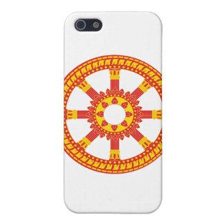 Ashtamangala Symbol Dharmachakra Wheel of Dharma iPhone SE/5/5s Cover