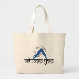 Ashtanga Yoga Gift Large Tote Bag