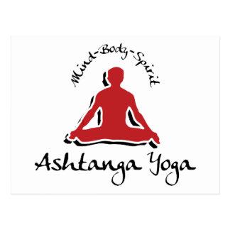 Ashtanga Yoga Gift Postcards