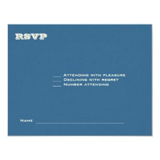 Ashton Bar Mitzvah Wedding RSVP 369 Card