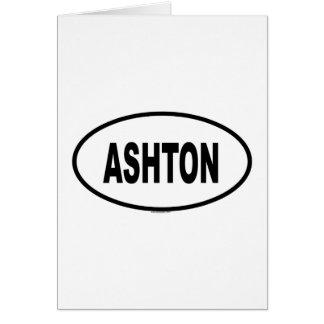 ASHTON GREETING CARD