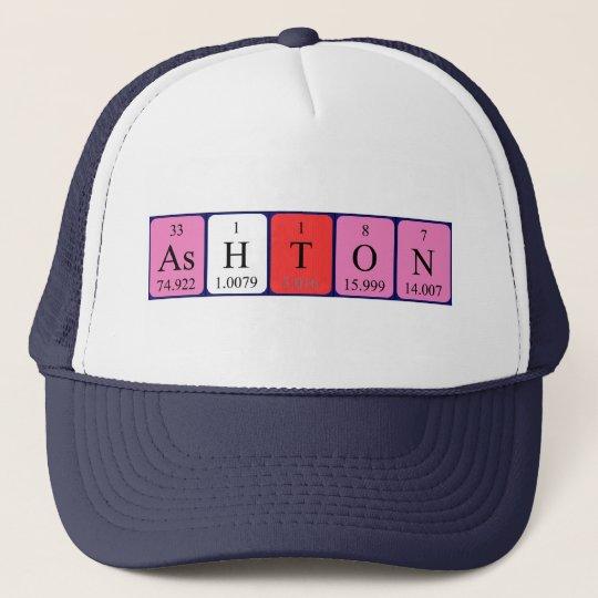 Ashton periodic table name hat