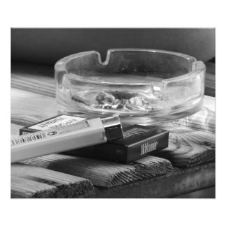 ashtray photo print