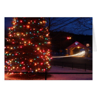 Ashuelot Covered Bridge Holiday Display Winchester Cards