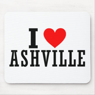 Ashville, Alabama City Design Mouse Pad