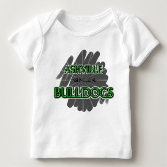 Ashville High School Bulldogs - Ashville, AL Baby T-Shirt